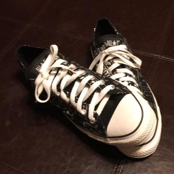Black Converse All🌟Star